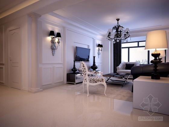 现代简约欧式客厅