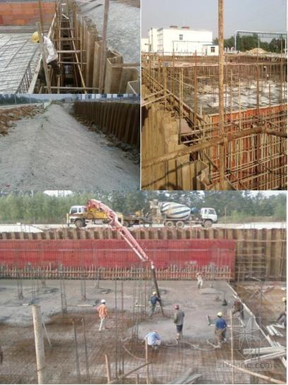 [湖北]拉森钢板桩振动打拔桩施工工法