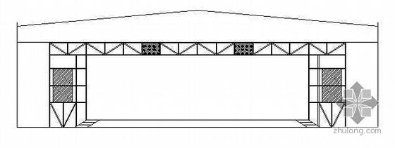 某高新区多功能厅舞台设计图