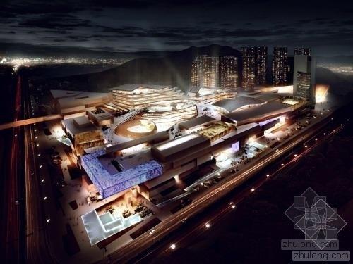 [珠海]超高层现代化商业中心规划建筑设计方案文本