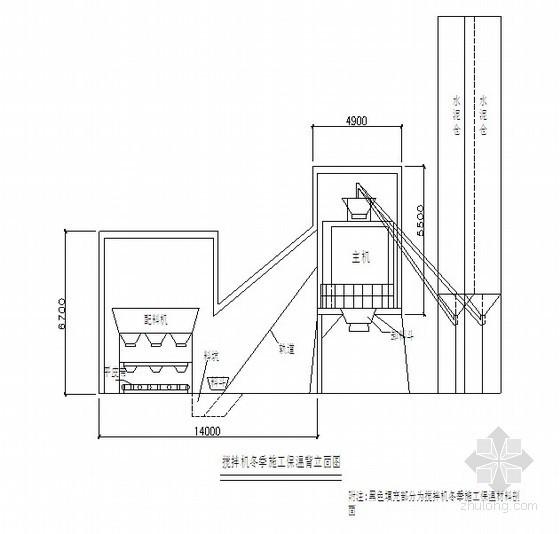 甘肃某风力发电风机基础大体积混凝土冬季施工方案