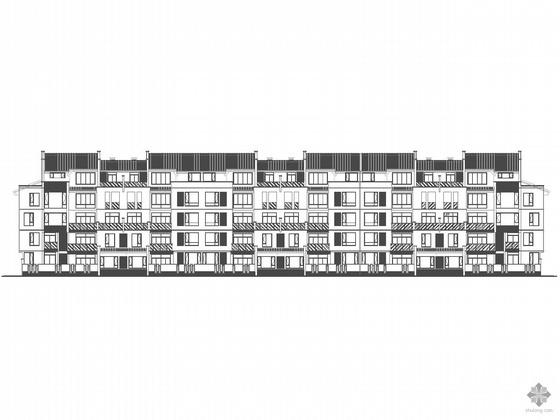 [重庆]某多层板式住宅楼建筑施工图