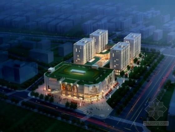 [北京]大型高档住宅小区施工组织设计(22层 钢框架结构)