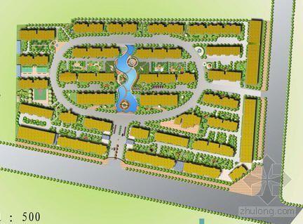 安徽某小区规划设计(毕业设计)