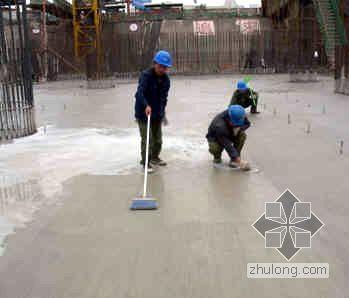 北京某火车站基础底板大体积混凝土施工方案(泵送计算)