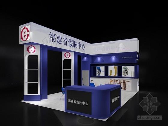 医疗器械展览特装3D模型下载