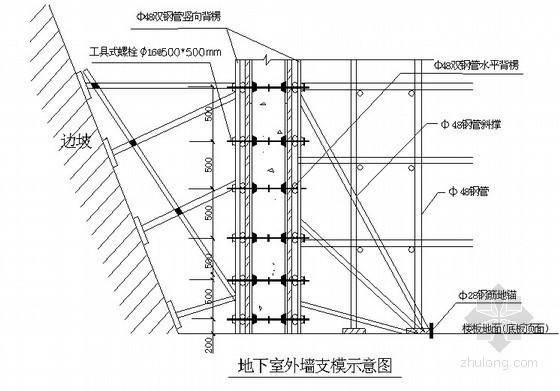 [北京]框剪科研楼模板工程施工方案(附节点图及计算)