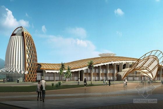 [海南]机场工程贵宾楼ETFE膜结构施工工法汇报