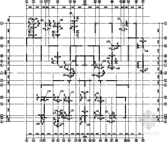 [广西]两梯四户纯剪力墙住宅结构施工图