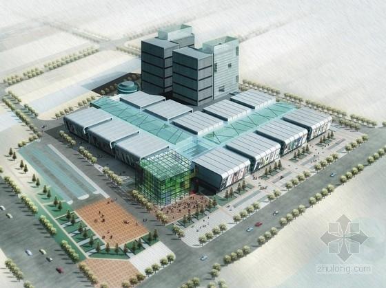 [浙江]商贸城规划及单体设计方案文本(含商场cad)