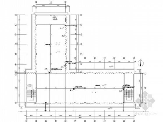 [江苏]三层商店建筑给排水设计施工图