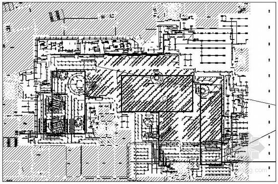 [长沙]大型地下卖场二次装修电气施工图纸42张