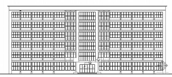 [毕业设计]郑州市人大附中框架结构六层综合办公楼建筑施工图