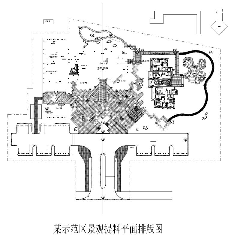 [河南]安阳某展示区项目石材排版提料