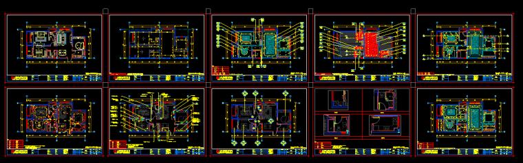 【浙江】2套混合风格新城样板间设计(附效果图+材料表)_5
