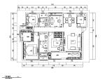 中式风格四居室住宅设计施工图(附效果图)