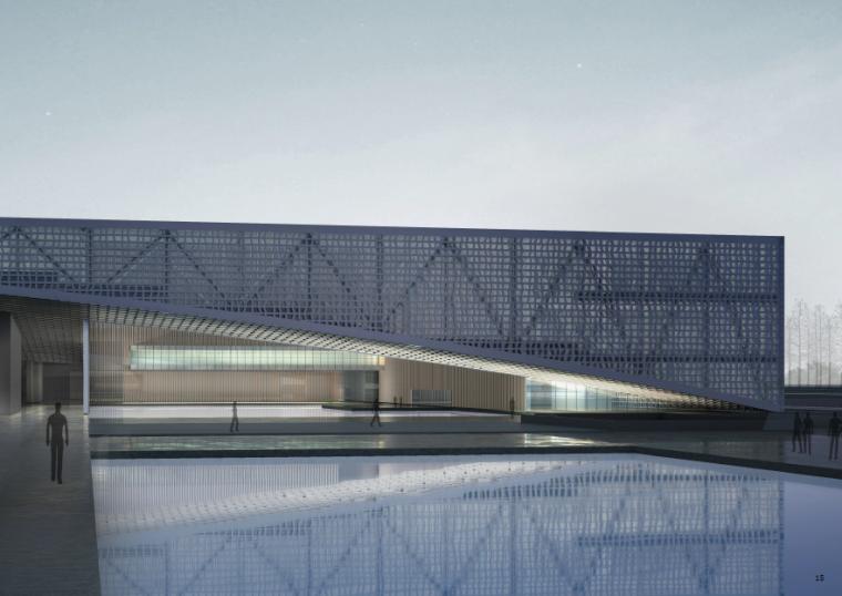 [安徽]蚌埠博物档案规划馆建筑设计