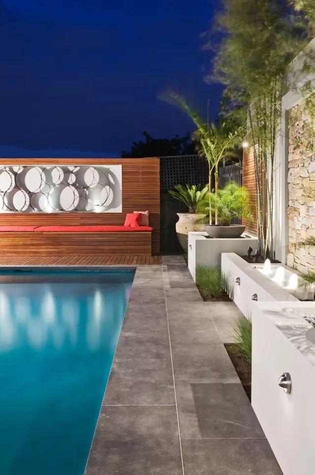 赶紧收藏!21个最美现代风格庭院设计案例_88