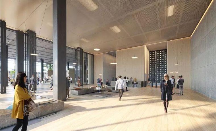钢结构建筑——SOM芝加哥新办公楼