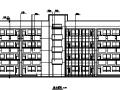 西安某大学教学楼全套建筑图(含教学楼及办公室)