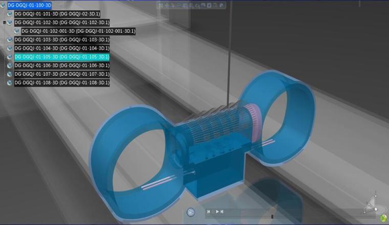BIM技术在地铁车站及盾构施工中的应用PPT