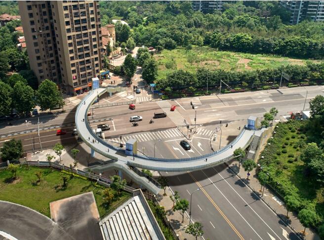 人行天桥钢箱梁吊装安全专项施工方案(附图)