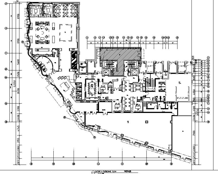 [上海]现代风格售楼空间设计施工图(附效果图)