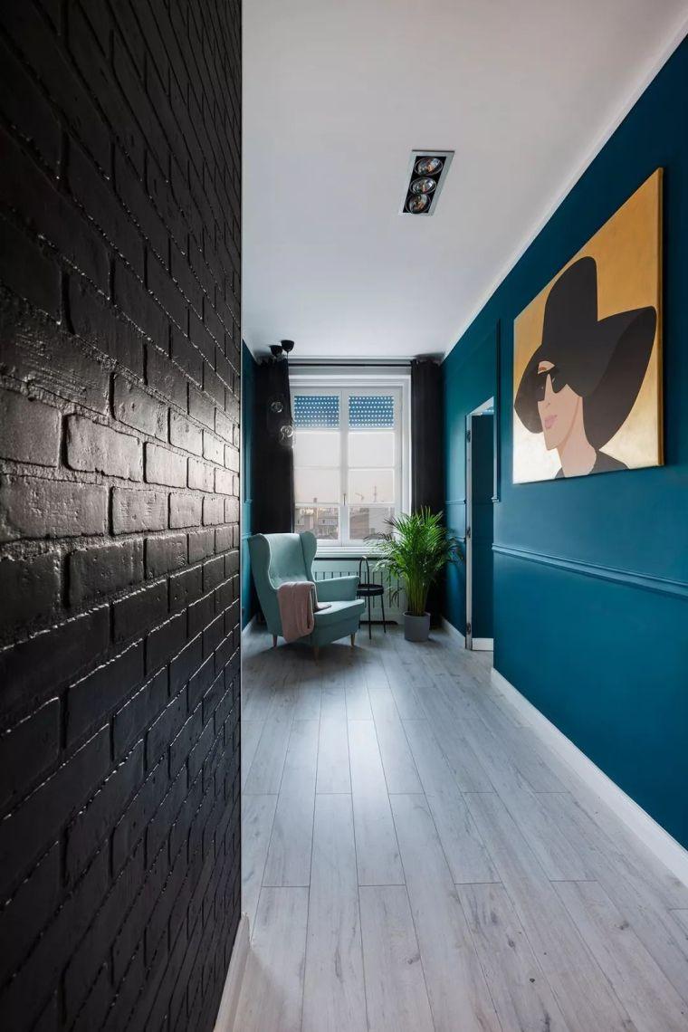 深色系墙面设计,让你家的颜值翻一倍_6
