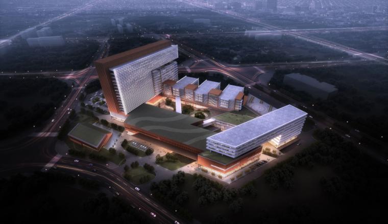 [广东]佛山市妇女儿童医院建筑设计方案文本(PDF+44页)