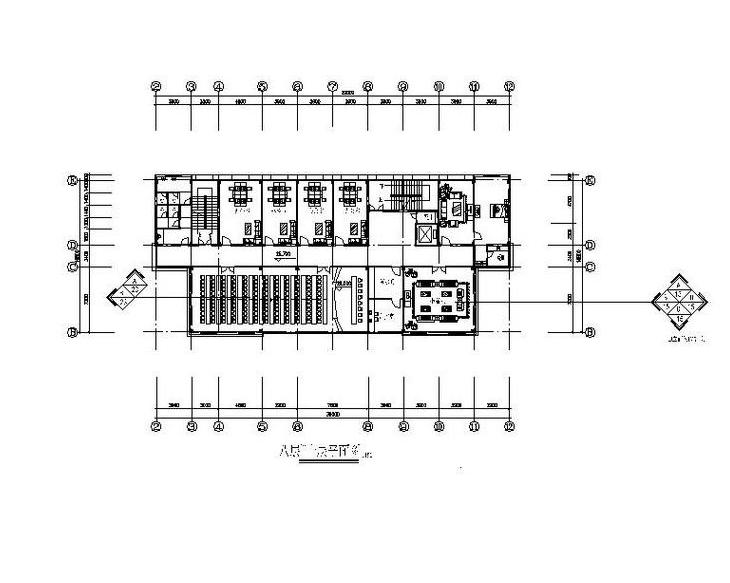 [苏州]某高层办公楼室内装修设计施工图
