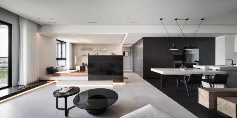 高级黑的家,客厅这样设计百看不厌