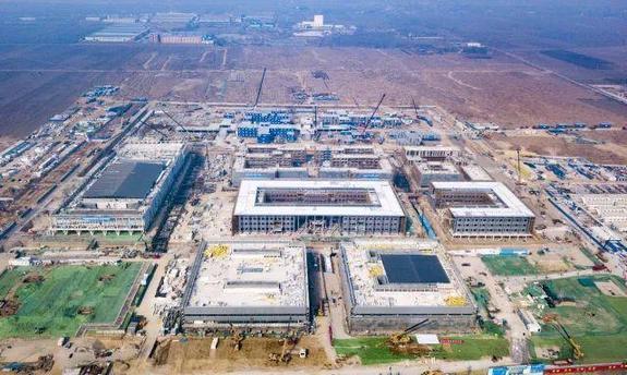 雄安市民服务中心项目加速实施!地下综合管廊主体结构完工