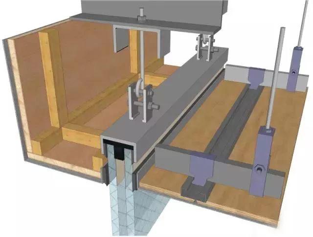 地面、吊顶、墙面工程三维节点做法施工工艺详解_16