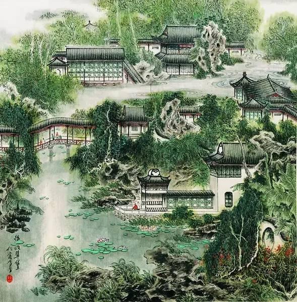 园林景观,最爱中式!!