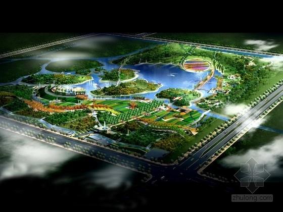[苏州]城市生态植物公园景观规划设计方案