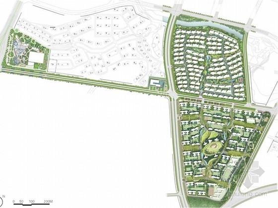[广东]山地绿色休闲风格居住区景观规划设计方案(国际知名设计机构)