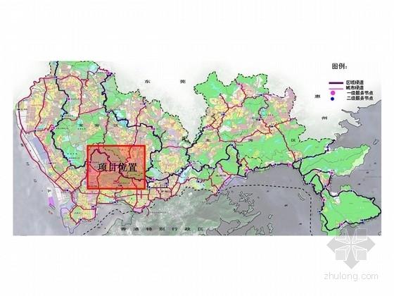 [深圳]休闲空间道路景观规划设计方案