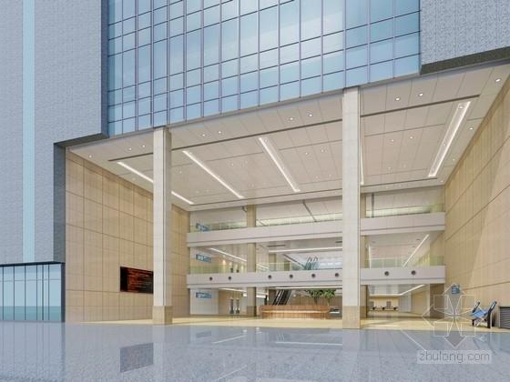 [宁波]资源交易中心高档现代办公楼设计方案