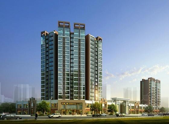 [北京]大型商住楼项目开发投资概算书(附全套图纸及效果图)