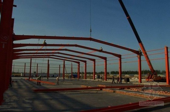 铝合金厂办公楼及生产车间施工组织设计(附图)