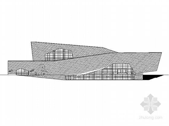 [安徽]省级古生物博物馆建筑施工图(含室外总体规划 顶尖设计院)