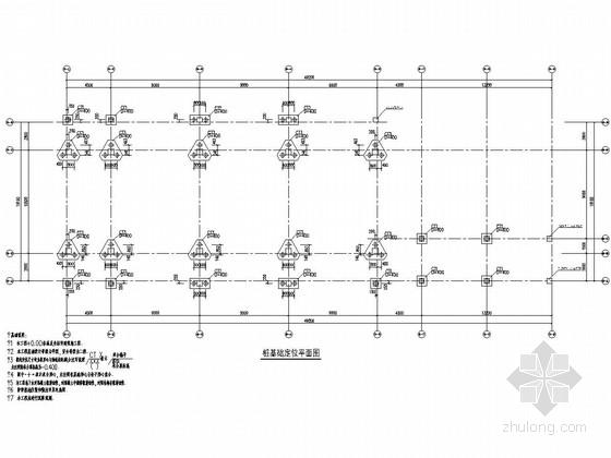 [广东]五层框架结构艺术塔楼结构施工图