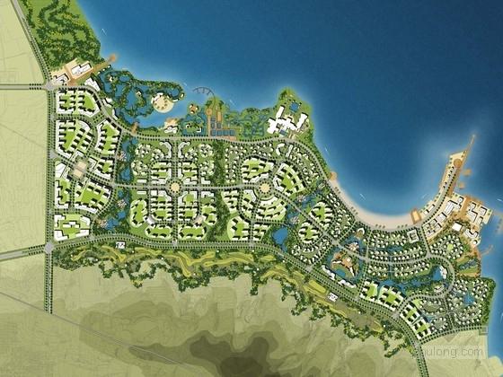 [青岛]体验式海洋休闲度假区景观规划方案