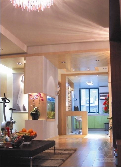 时尚优雅现代三居室装修图(含实景图) 实景图