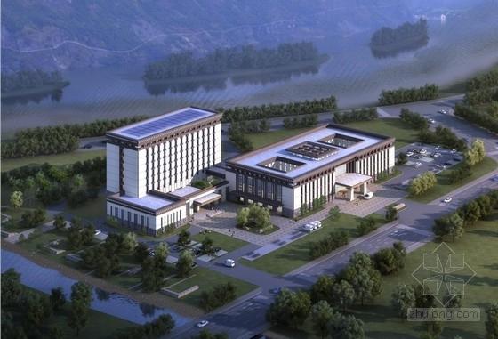 [拉萨]花园式当代藏式风格市级人民医院建筑设计方案文本