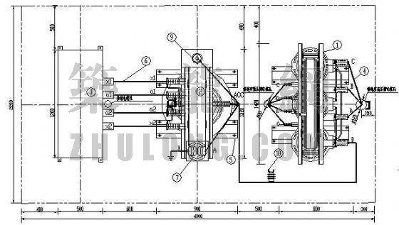 变电站消弧线圈系统图(部分)