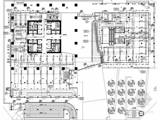 [广东]超高层商务中心集中舒适性空调及通风排烟施工图(系统图多)