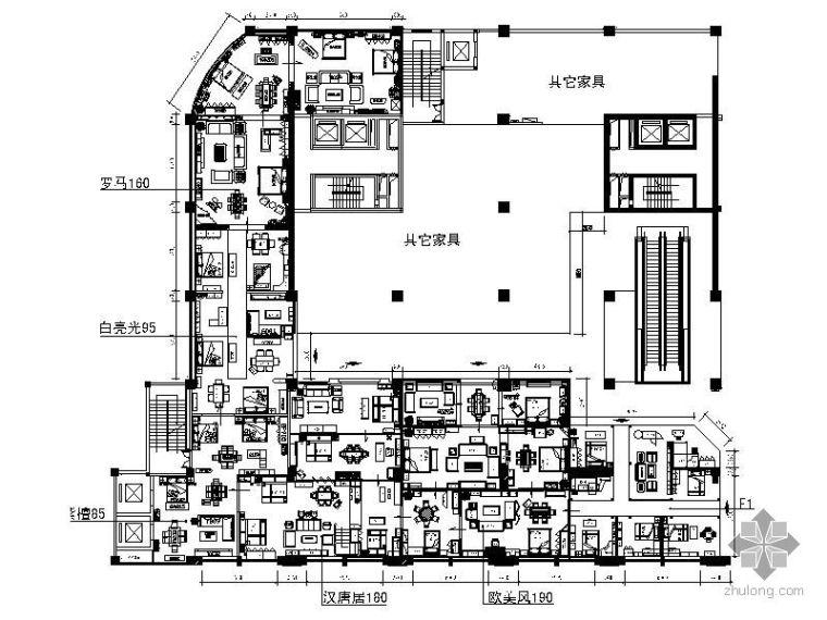 [海南]某家具旗舰设计图