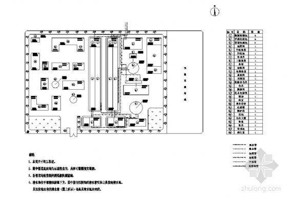 某10万吨地面水厂设计图纸(毕业设计)