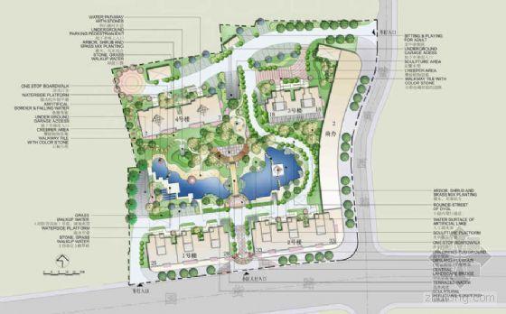 [上海]住宅区景观方案设计